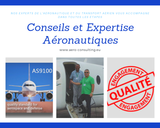 Aero Consulting Formations aéronautiques - Conseils et Expertise Aéronautiques - Audit - Expertise - Surveillance - Formation - Management