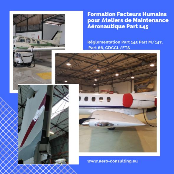Aero Consulting - Formations Facteurs Humains pourAteliers de Maintenance Aéronautique Part 145
