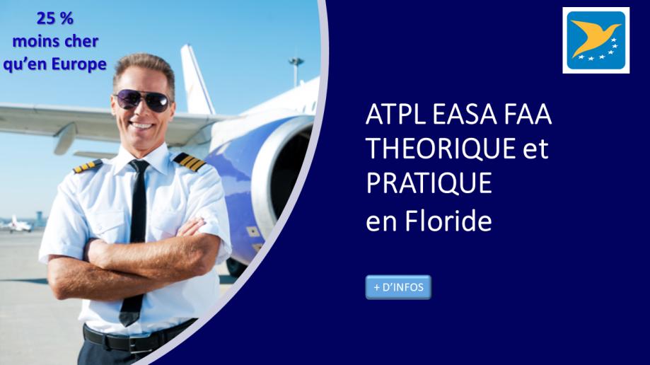 Aero Consulting Formations aéronautiques - Devenez pilote de ligne - ATPL théorique et pratique en Floride - ATPL EASA FAA