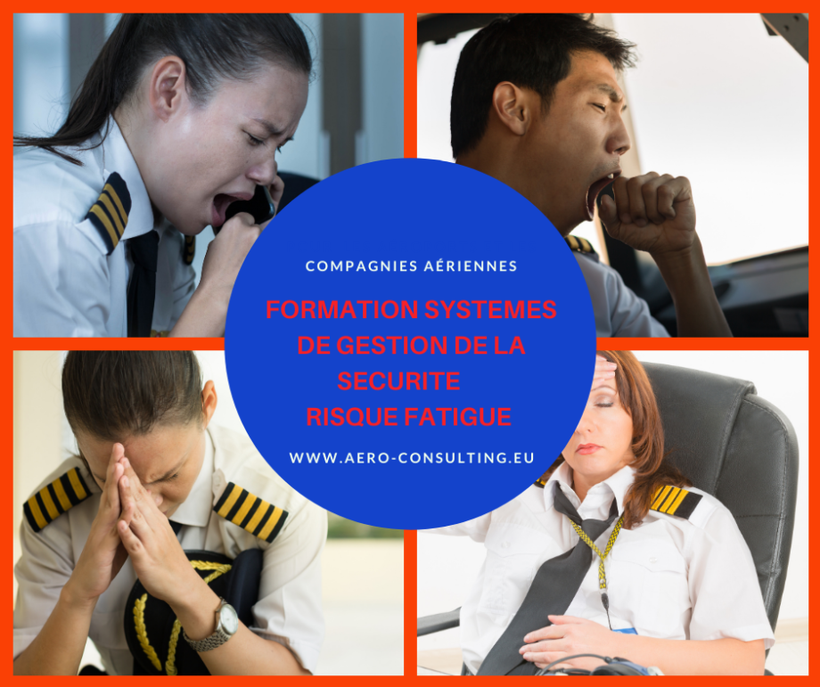 Aero Consulting Formation Systèmes de gestion de la sécurité Risque Fatigue DGR - Formation en visio et en présentiel