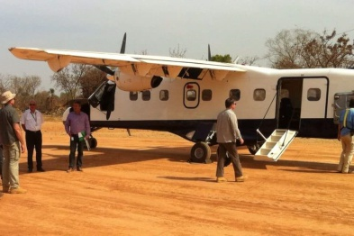 AERO CONSULTING Formations Aéronautiques - Arrivée à Badilla au Tchad pour une nouvelle formation sur site